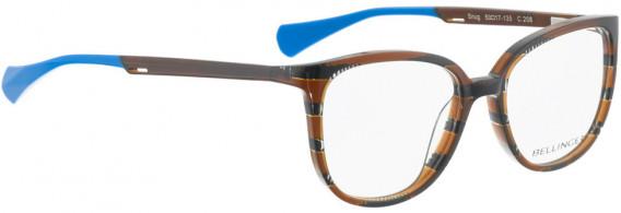 BELLINGER SNUG glasses in Brown Pattern