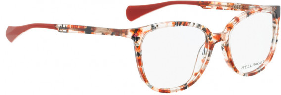 BELLINGER SNUG glasses in Red Pattern
