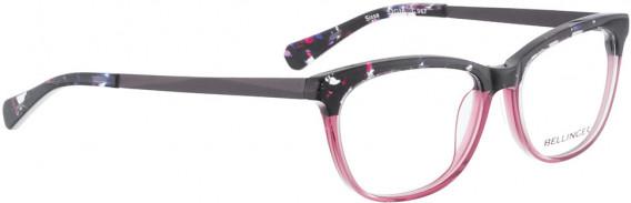 BELLINGER SISSA glasses in Black Purple Pattern