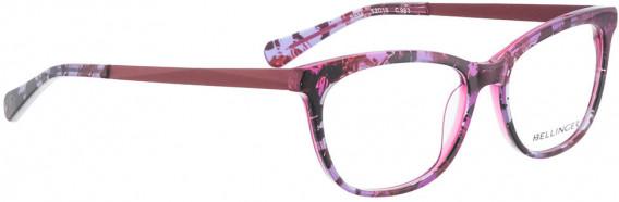 BELLINGER SISSA glasses in Purple Black Pattern