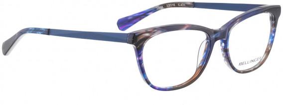 BELLINGER SISSA glasses in Blue Pattern