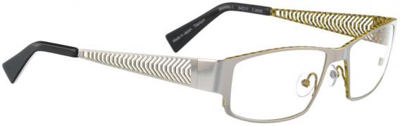 BELLINGER SHARK-1 glasses in Silver