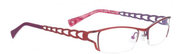 BELLINGER SAGRADA-1 glasses in Red