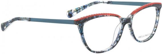 BELLINGER RAMEN glasses in Blue Pattern