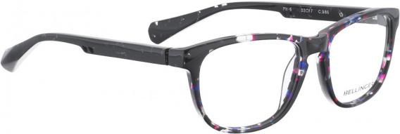 BELLINGER PIT-6 glasses in Black Pattern