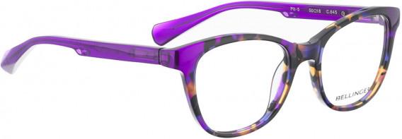 BELLINGER PIT-5 glasses in Purple Pattern