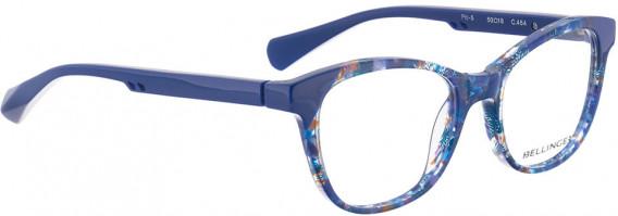BELLINGER PIT-5 glasses in Dark Blue Pattern