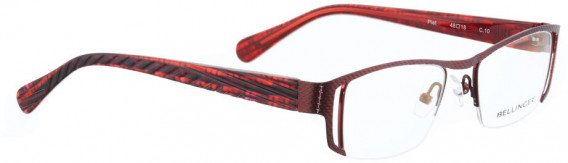 BELLINGER PIET glasses in Shiny Red