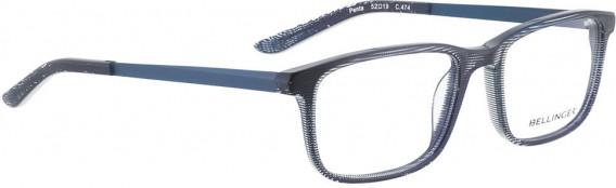 BELLINGER PENTA glasses in Blue Pattern