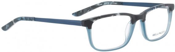 BELLINGER PENTA glasses in Matt Blue Pattern