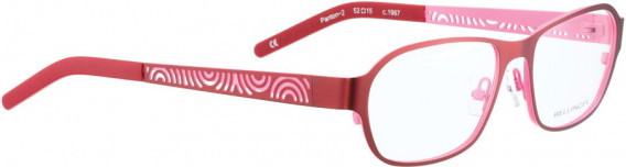 BELLINGER PANTON-2 glasses in Red