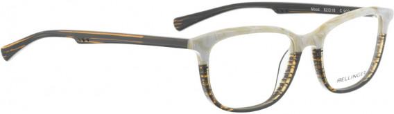 BELLINGER MOOD glasses in Brown Stripes