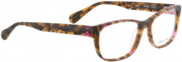 BELLINGER LUCY-52 glasses in Blue/Pink Pattern