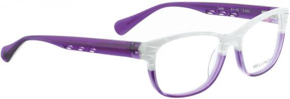 BELLINGER LUCY-51 glasses in White Pattern/Purple