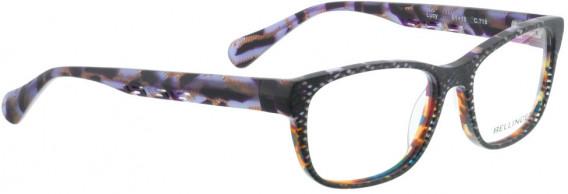 BELLINGER LUCY-51 glasses in Matt Grey Glitter
