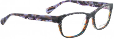 BELLINGER LUCY-51 glasses in White Pattern/Purple