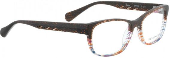 BELLINGER LUCY-50 glasses in Matt Brown Pattern