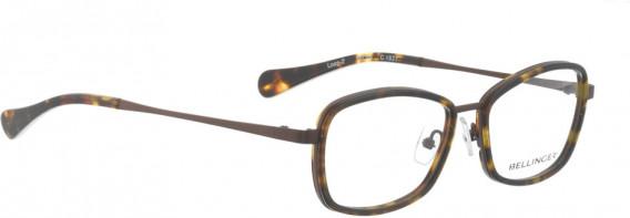 BELLINGER LOOP-2 glasses in Red – Brown