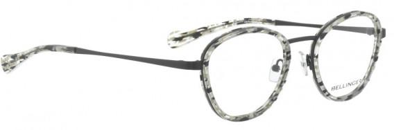 BELLINGER LOOP-1-49 glasses in Black White