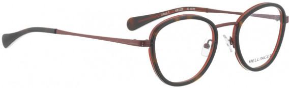 BELLINGER LOOP-1-49 glasses in Red – Brown