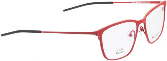BELLINGER LESS-TITAN-5931 glasses in Red