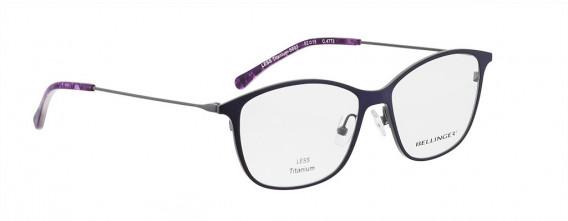 BELLINGER LESS-TITAN-5893 glasses in Blue Purple