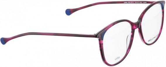 BELLINGER LESS-ACE-2012 glasses in Purple Pattern