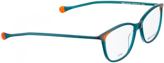 BELLINGER LESS-ACE-2011 glasses in Green Transparent