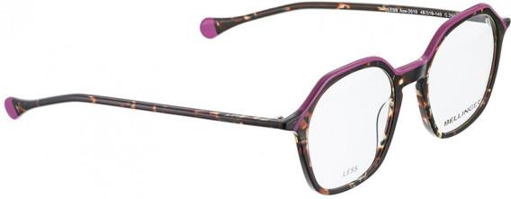 BELLINGER LESS-ACE-2010 glasses in Brown Pattern