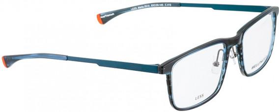 BELLINGER LESS2014 glasses in Blue Pattern