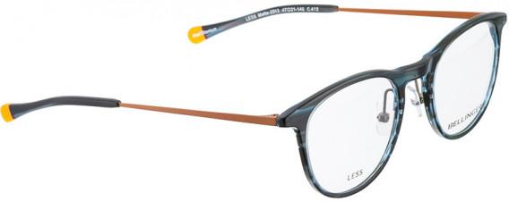 BELLINGER LESS2013 glasses in Blue Pattern