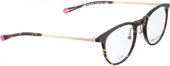 BELLINGER LESS2013 glasses in Brown Pattern