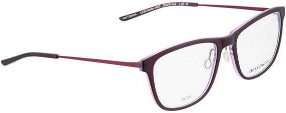 BELLINGER LESS1933 glasses in Matt Purple