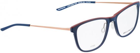 BELLINGER LESS1933 glasses in Matt Blue