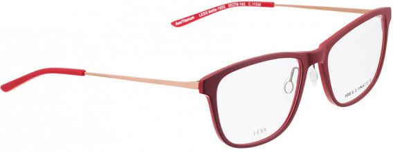 BELLINGER LESS1933 glasses in Matt Red