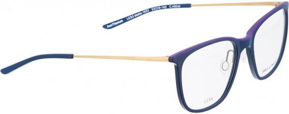 BELLINGER LESS1932 glasses in Matt Blue