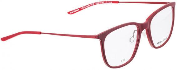 BELLINGER LESS1932 glasses in Matt Red