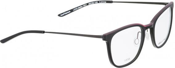 BELLINGER LESS1931 glasses in Matt Black
