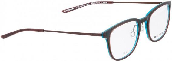 BELLINGER LESS1931 glasses in Matt Brown