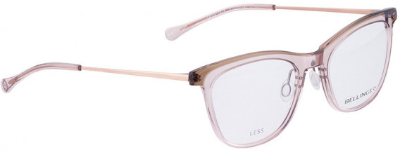 BELLINGER LESS1914 glasses in Clear Pink