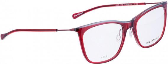BELLINGER LESS1913 glasses in Red
