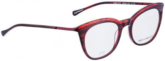 BELLINGER LESS1912 glasses in Red