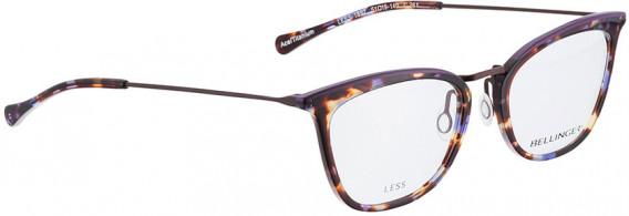 BELLINGER LESS1892 glasses in Purple Pattern