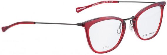 BELLINGER LESS1892 glasses in Red Transparent