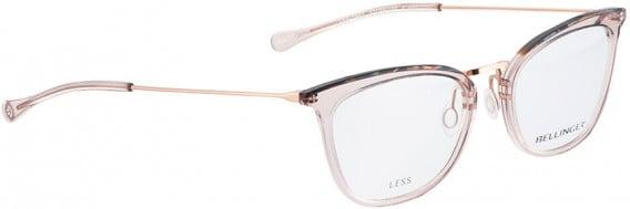 BELLINGER LESS1892 glasses in Brown Transparent