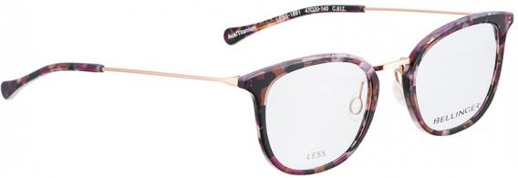 BELLINGER LESS1891 glasses in Purple Pattern