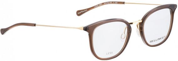 BELLINGER LESS1891 glasses in Brown Transparent