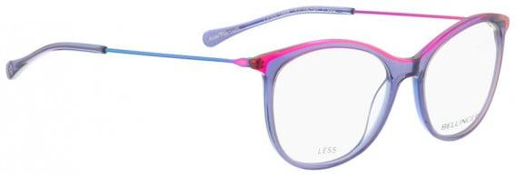 BELLINGER LESS1888 glasses in Purple Transparent