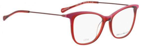 BELLINGER LESS1887 glasses in Red