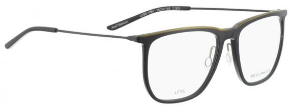 BELLINGER LESS1886 glasses in Black